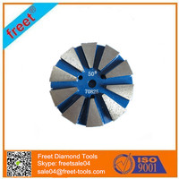 diamond grinding plate Metal Bond Concrete Polishing Pads