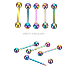 stainless steel Tongue piercing body jewelry