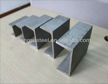 aluminum c u steel channel sizes