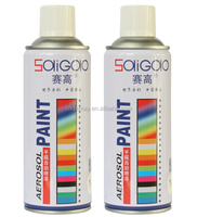 230g high gloss high rigidity strong adhesion 8min dry 99% rate MSDS acrylic heat resistant glass spray paint