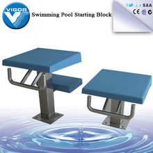 Competition Standard Style Pool Starting Blocks with Anchor