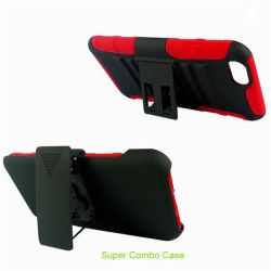 3 in 1 holster combo hybrid kickstand cover case for ipod touch 5