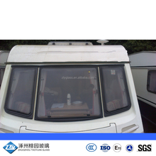 customized caravan windows glass