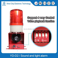 2016 construction security and fire alarm systems with led warning strobe lights