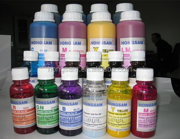 Wide color gamut pigment ink refill ink for canon epson hp