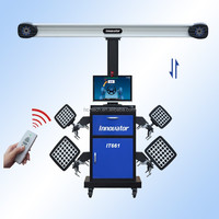 Intelligent 3d wheel alignment equipment IT661 with CE