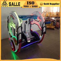 2016 newest amusement used rides happy car le bar swing balance car for sale