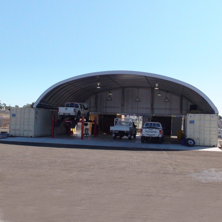 military tent metal garage for car parking