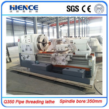 Q350mm pipe thread lathe machine from Real Manufacturer Max.diameter 350mm
