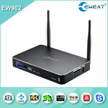 S812 tv box M10 Amlogic S812 android tv box Quad Core 4K with clock hot kodi 15.0 media streaming player