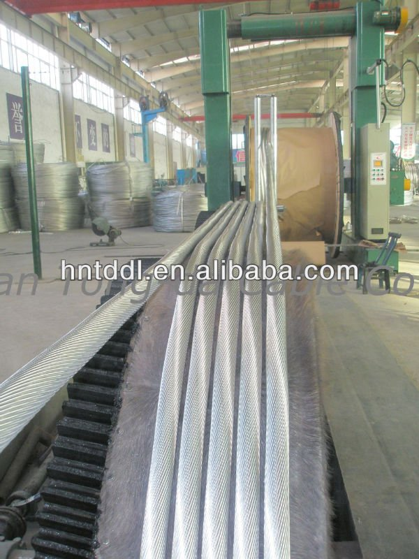 ACSR cable/conductor, ACSR, AAC, AAAC, ACAR, ACSR/AS aluminum conductor steel reinforced