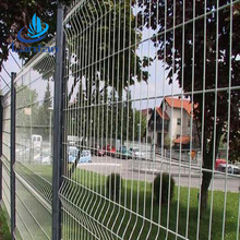 Best selling low price high quality peach post black welded wire fence mesh panel