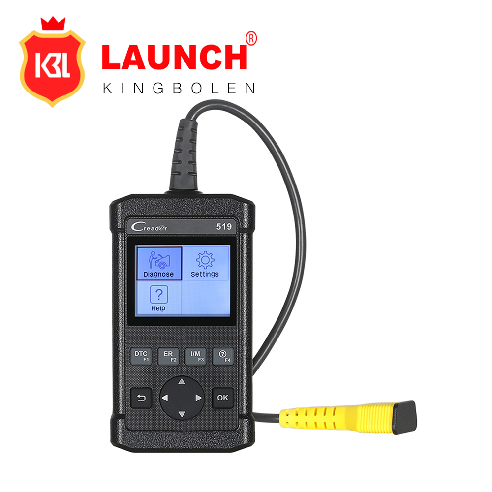 Full OBDII / EOBD diagnostic functions Launch CReader 519 OBD2 code diagnostic tool The same as Autel AL519