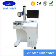 High precision CE approved 10W/20W/30W/50W metal fiber 3d crystal laser engraving machine price