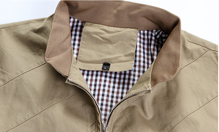 43Gentlemen's long sleeve BUTTON thickens maintains warmth jacket for WINTER season,fom Guangzhou