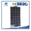About 20% efficiency 100W flexible solar panel for Boat