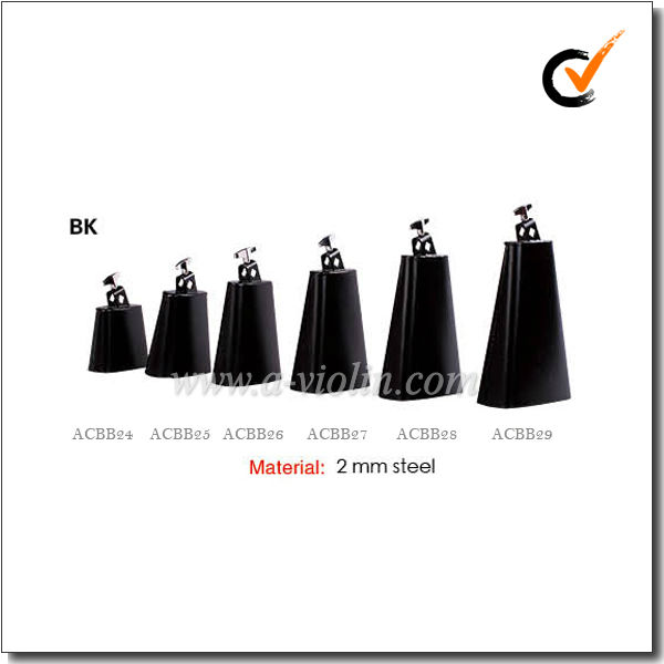 2 mm Custom Solid Steel Cow bells (ACBB24&ACBB25&ACBB26&ACBB27&ACBB28&ACBB29)
