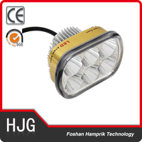 12V-24V silver led headlight motorcycle with cheap price