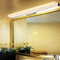 Hotel decorative bathroom mirror wall sconces