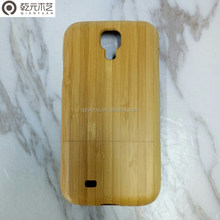 Handmade Real Bamboo Wood Cell Phone Cases Back Hard Case Cover for samsung galaxy 4
