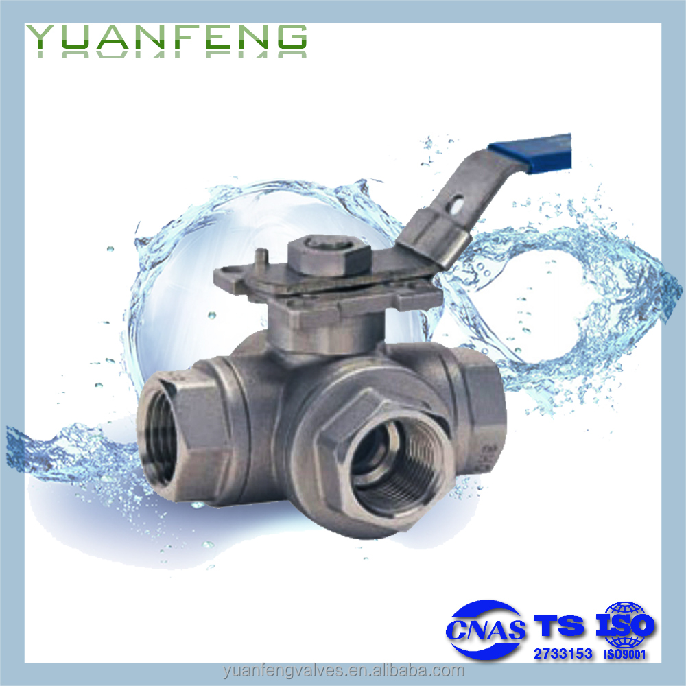 3 WAY BALL VALVE(1000WOG)