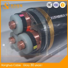3 core steel tape armored power cable with copper or aluminum conductor and xlpe insulation and sheath