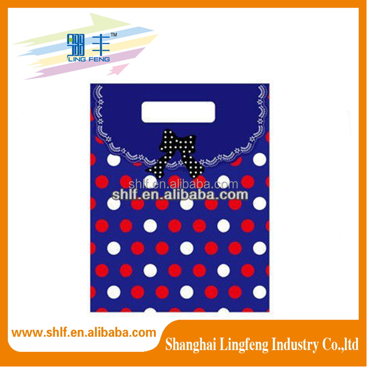 Luxury gold stamping colorful jewelry shopping paper bag