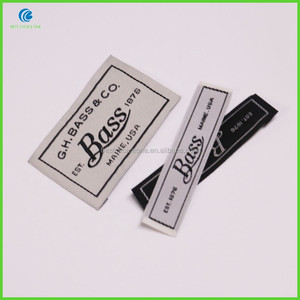 Custom Garment Care Woven Labels For Clothing Home Textile
