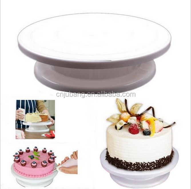 New cake decorating tools plastic cake turntable / Cake Decorating Turntable Display Stand / Table Stand cake turntable