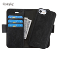 CTUNES Detachable Slim Leather Flip Magnetic kickstand Card Holder Cash Pocket Covers For Apple iPhone8
