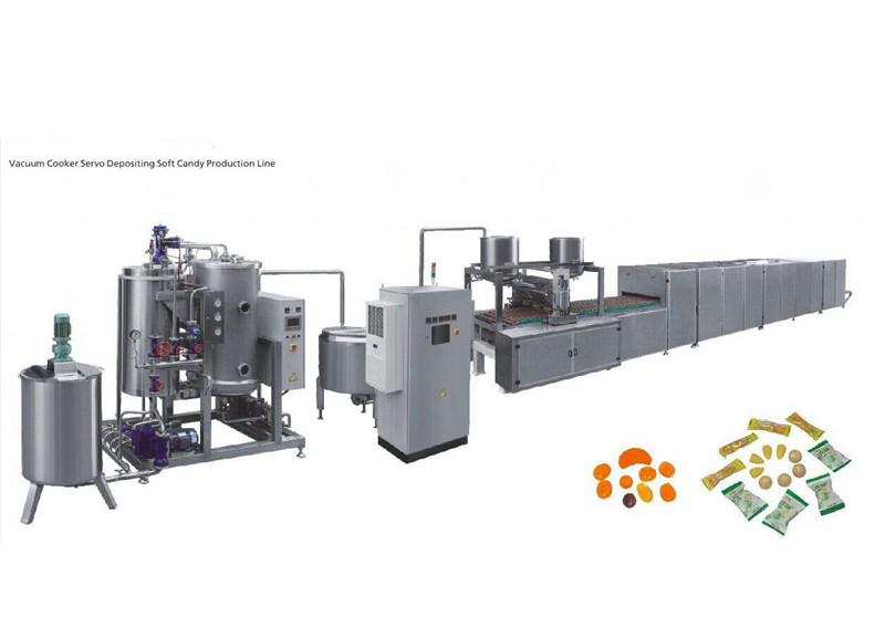 Good quality hard candy machine small production for sale