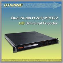 (DMB-8900) Low Price HE-AAC(V1/V2) MPEG-4 H.264 HD/SD HDMI/SDI ASI Video encoder with 2 stereo or 4 Mono audio encoding