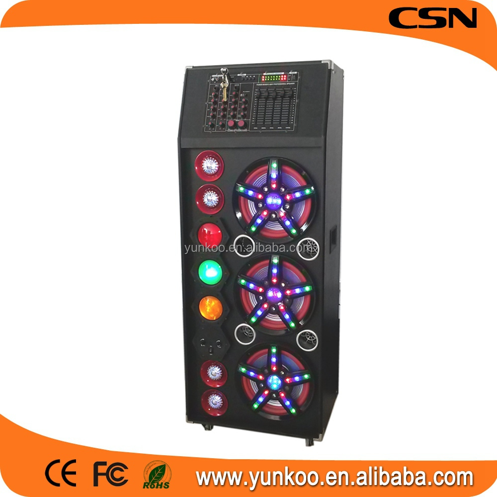 speaker professional 12 bluetooth equalizer,audio equipment,10 inch equalizer stage speaker with fm radio