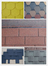 Johns Manville fiberglass roofing asphalt shingles / roof shingles / wholesale building construction material slope roof tiles