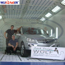 WLD8400 High Quality Germany Quality Water Based Car Spray Booth