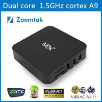 Amlogic 8726-MX2 1GB 8GB Corte A9 XBMC Streaming Media Player Magic Box Internet TV Box