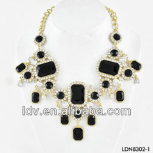Alibaba China Accessories Palatial Names Of black Precious Stones Party Jewelry