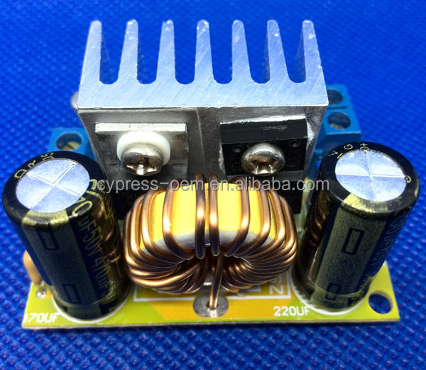 [DC DC step up power supply module] converter 50W dc-dc BOOST converter dc 4.5-40V to dc 5-60V constant current 0-6A