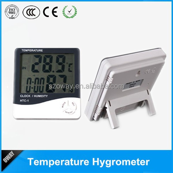 Green house digital thermometer hygrometer