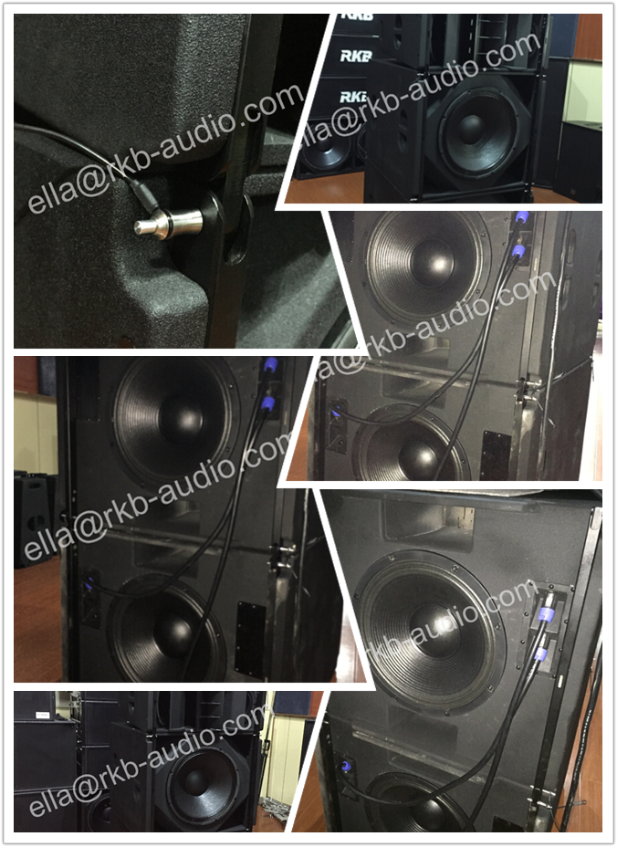 "New style High Power 18"" Subwoofer for Event"