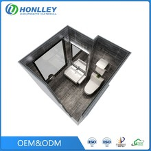 Guangzhou Honlley modern bathroom modular sri lanka container prefab houses made in china