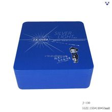 New style rectangle wine gift tin box
