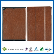 TOP Quality New Hot for ipad 3 smart cover leather case rotating stand