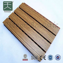 Cheap Wood Veneer Slat Panel