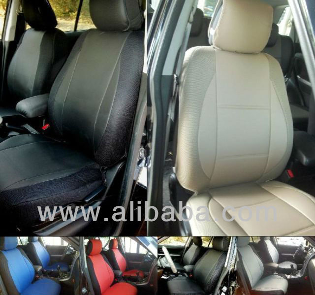 FOR MERCEDES E-CLASS MIX LEATHERETTE & SYNTHETIC CUSTOM FIT FRONT CAR SEAT COVERScovers w210