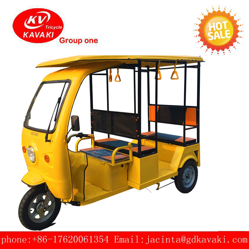 cheapest and best quality solar passenger safety tuk tuk and bajaj auto electric 3 wheel taxi tricycle with 3 wheel transport