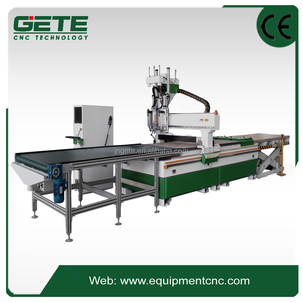 M6-1325FPanel Furniture woodworking Cutting machine with nesting system