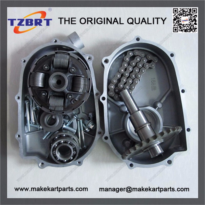 Kart Racing GX160/GX200,14 Tooth gearbox for Go Kart,Minibike