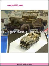 1/24 scale military model
