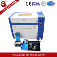 Factory dedicated machine GY-G400*600 Laer engraving machine best price/laser wood cutter/laser logo printing machine